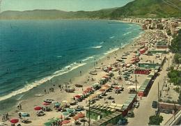 Alassio (Savona) Spiaggia E Torrione Sul Fondo, The Beach, La Plage, Der Strand - Savona