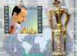 2006 World Chess Champion Vesselin Topalov S/S - Perforated -MNH ** BULGARIA/ Bulgarie - Chess