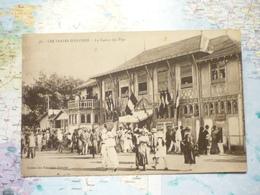 Le Casino Des Pins / Au Dos Daguin Les Sables D'Olonne La Plus Belle Plage D'Europe 1921 - Sables D'Olonne