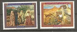TABLEAUX 1969 - NEUFS ** - YT 503/04 - Algérie (1962-...)
