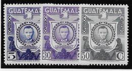Guatemala Poste Aérienne N°266/268 - Neuf * Avec Charnière - TB - Guatemala