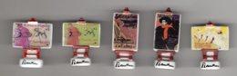 Série 5/10 Fèves Brillantes LES OEUVRES DE TOULOUSE-LAUTREC Musée Albi - 2004 - Characters