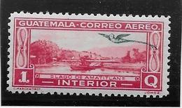 Guatemala Poste Aérienne N°38A - Neuf * Avec Charnière - TB - Guatemala