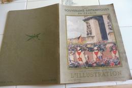 L'ILLUSTRATION JUILLET 1938-ALBUM HORS SERIE-SOUVERAINS BRITANNIQUES EN FRANCE-PARIS DECORE PAVOISE-AQUARELLES PARIS - Newspapers