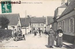 TOURNEHEM LA GROSSE RUE AUTOMOBILE 62 - Francia