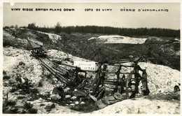 Côrte De VIMY Débris D'Aéroplane VIMY Bridge British Plane Down - France