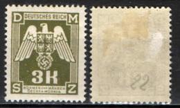 BOEMIA E MORAVIA - 1943 - AQUILA IMPERIALE - MH - Boemia E Moravia