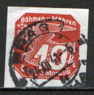 BOEMIA E MORAVIA - 1939 - FRANCOBOLLO PER GIORNALI - USATO - Boemia E Moravia