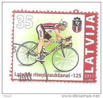 Latvia 2011 Biking ,Latvian Cycling - 125  USED  (0) - Latvia