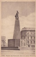 LODZ. POMNIK TAD. KOSCIUSZKI (ZBURZONY PRZEZ NIEMCOW). CIRCA 1920s POLAND NON CIRCULEE- BLEUP - Polen