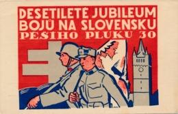 Military - Jubileum Bojov Na Slovensku Pešieho Pluku 30 - Heimat