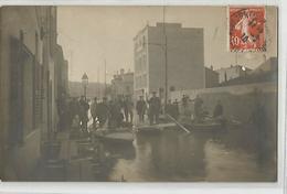 92 Boulogne Billancourt - La Rue De La Plaine 1910 Carte Photo- 2scans - Boulogne Billancourt