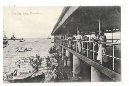 SRI LANKA  (ceylon)  COLOMBO - Landing Jetty   -  L 1 - Sri Lanka (Ceylon)