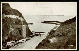 Ref 1240 - 1946 Postcard - The Cove Tramore - Ireland Eire - Buy Irish Goods Slogan - Waterford