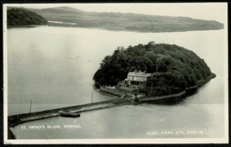 Ref 1240 - 1967 Real Photo Postcard - St Ernan's Island County Donegal - Ireland Eire - Donegal