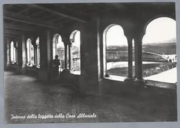 IT.- ABBAZIA CISTERCENSE Di CASAMARI. Interno Della Logetta Della Casa Abbaziale - Kerken En Kloosters