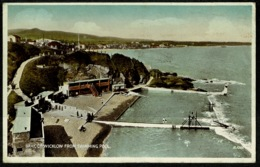 Ref 1240 - 1947 Postcard - Bray From The Swimming Pool - County Wicklow - Ireland Eire - Wicklow