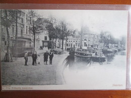 Haarlem . Port Et Tramway . Dos 1900 - Haarlem