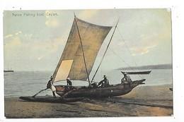 SRI LANKA  (ceylon)  Native Fishing Boat   -  L 1 - Sri Lanka (Ceylon)