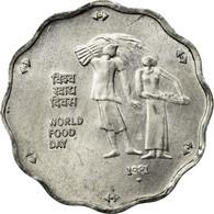 Monnaie, INDIA-REPUBLIC, 10 Paise, 1981, TTB, Aluminium, KM:36 - Inde
