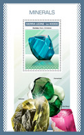SIERRA LEONE 2018 - Minerals S/S. Official Issue. - Mineralen