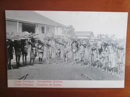 Congo Portuguez . Chargeurs De Zombo - Congo - Brazzaville