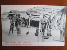 Congo Portuguez . Damba . Pileurs De Luco - Congo - Brazzaville