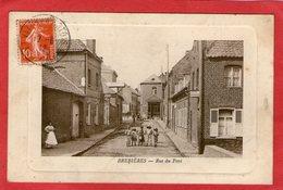 BREBIERES - Rue Du Pont - (Estaminet  Sarazin-Garez) -1912 - - Otros Municipios