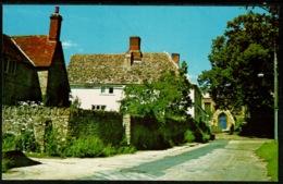 Ref 1241 - Postcard - Houses Church Street - Marcham Near Abingdon Oxfordshire - England