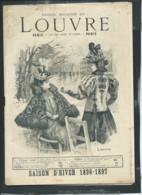 Catalogue Saison D'hiver 1896/1897 , Grands Magasins Du Louvre Paris, 48 Pages  Vif244 - Mode