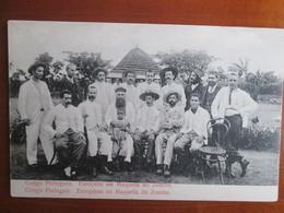 Congo Portuguez .  Europeens En Maquella Du Zombo - Congo - Brazzaville