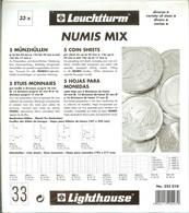 LEUCHTTURM - Feuilles NUMIS MIX - Matériel
