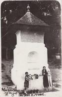 CURTEA DE ARGES-FANTANA M MANOIE FONTANA MENESTERAL MANOLE CPA ANIMEE 1940s.RUMANIA ROMANIA- BLEUP - Roemenië