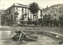 Rapallo (Genova) Fontana Del Polipo, Albergo Europa E Chiesa Di San Francesco - Genova (Genua)