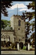 Ref 1241 - Postcard - The Church West Mersea Essex - England
