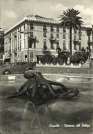 Rapallo (Genova) Fontana Del Polipo E Albergo Europa - Genova (Genua)