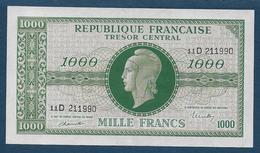 BILLET De  1000 F Marianne  - Série D - Trésor