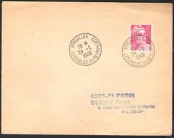 FRANCE Lettre 1948 Avec Yvert 721 Cachet Speciale Versailles Assemblee Union Française - Frankrijk