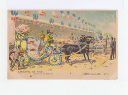 Illustration. Carnaval De Nice 1907. Bataille De Fleurs. L. Gross Nice. (3161) - Carnaval