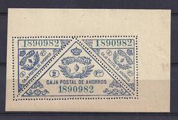 ESPAÑA 1933 - Galvez #21CR - MNH ** - Steuermarken/Dienstpost