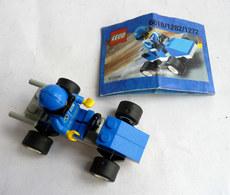 FIGURINE LEGO 6618 BLUE RACER Avec Notice 2000 - MINI FIGURE - Figures