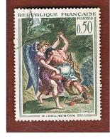 FRANCIA (FRANCE) -   SG 1603  -    1963  FRENCH ART: DELACROIX - USED - Gebraucht
