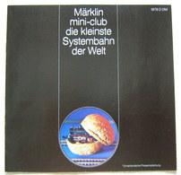MÄRKLIN Mini-club Katalog 1976 Spur Z Preise - Echelle Z
