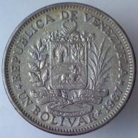 REPUBBLICA DEL VENEZUELA 1 Bolivar  1967      BB - Venezuela