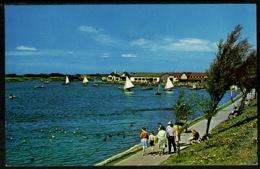 Ref 1242 - 1966 Postcard - Fairhaven Lake Lytham St Annes - Near Blackpool Lancashire - Blackpool