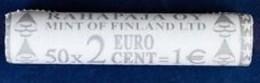 Finland 2003    50 X 2 Cent  In De ROL - 50 X 2 Cent Dans Une ROULEAUX     ZICHTROL - VISIBLE !!! - Finlande