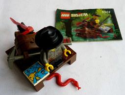 FIGURINE LEGO 5901 RIVER RAFT RADEAU Avec Notice 1999  - MINI FIGURE - Figurines