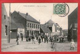 VITRY-en-ARTOIS - Rue De La Place  -1907 - - Vitry En Artois