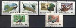 Hungary 1977. Animals / Birds / Peacocks Nice Set, Used - Paons