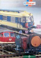 ROCO News 1994 Sachsen Modelle Prospekt H0 N Z TT H0e - Trains électriques